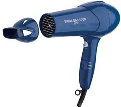 Vidal Sassoon Hairdryer With Brush Attachment Hair Dryers