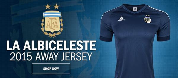 Camiseta Argentina adidas alternativa away 2015 01
