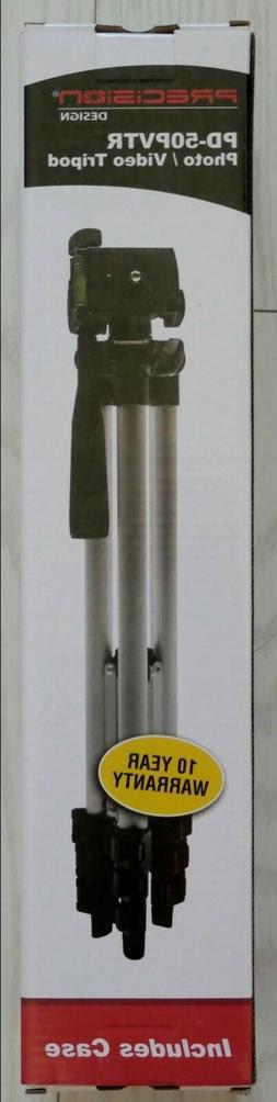 Precision Design Pd 50pvtr Compact Tripod Hdcamcordersorg