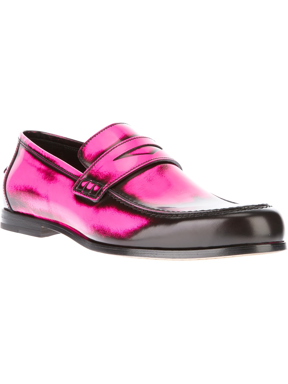 Jimmy Choo Fluoruro Penny Loafer in Pink for Men (pink ...