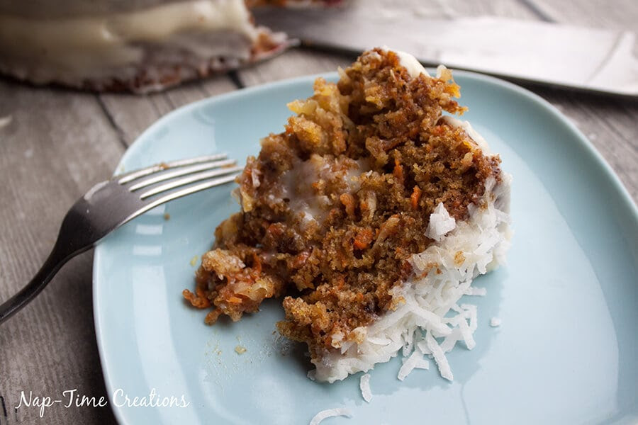 Raison Less Carrot Cake by Nap Time Creations