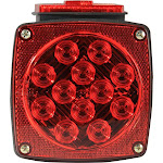 Pilot Automotive NV-5086 Submersible LED Trailer Light Kit for all Trailers Under 80 inches-Red