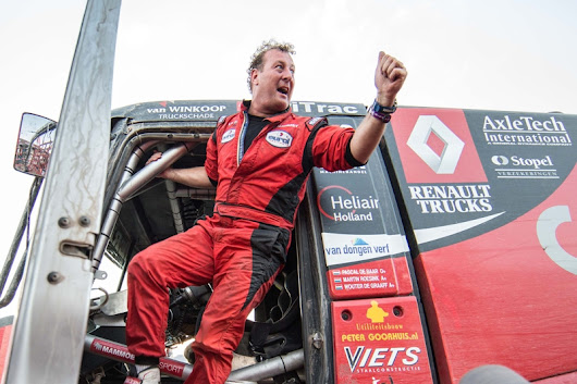 Sensation! MKR celebrates historical win with Pascal at the Dakar