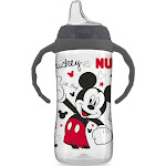 NUK Disney Large Learner Sippy Cup, Mickey Mouse, 10oz 1pk 10 Ounce (Pack of 1)