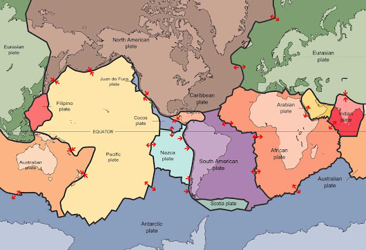 Enhanced views of Earth tectonics | Geology Page