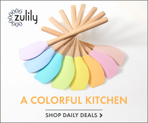 zulily Kitchen Sale