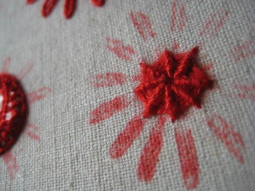 Poppyprint embroidery sampler