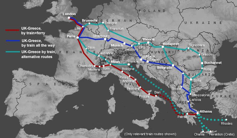 Inuit Panda Scarlet Carwash By Train To Greece
