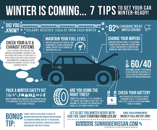 Winter is Coming… 8 steps to get your car winter-ready!