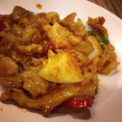 Gong bao chicken #food  (Taken with instagram)
