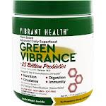 Vibrant Health Green Vibrance Version 16.0 +25 Billion Probiotics (177.4g)
