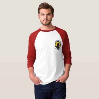 Basic 3/4 Sleeve Raglan T-Shirt: Math Smart Cavema T-Shirt