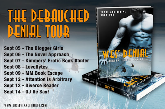 Debauched Denial Tour Stop 1 – The Blogger Girls
