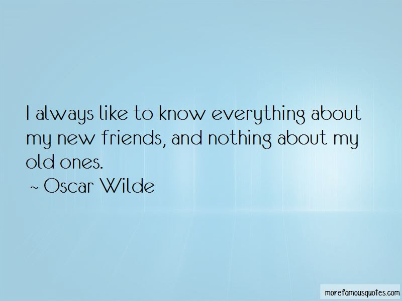 Nothing Like Old Friends Quotes Top 5 Quotes About Nothing Like Old