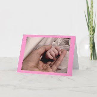New Mom and Baby Card card
