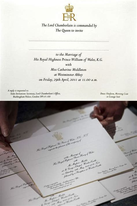 Meghan Markle's Wedding Invites Are Different from Kate