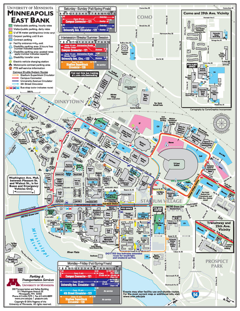University Of Minnesota Campus Map Umn Campus Map | Bedroom 2018