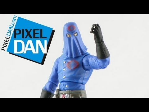 Cobra Commander Action Figures and History of the Character