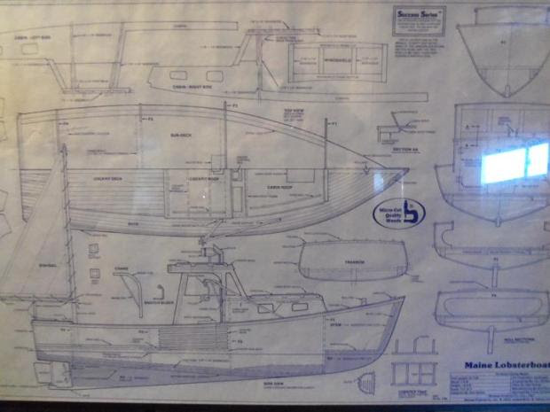 Lobster boat building plans Must see ~ KYK