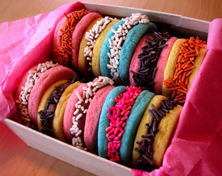 Cookies,blue,chocolate,colorful,macarons,pink-548e44254ececce5d968517b65115cd1_h_large