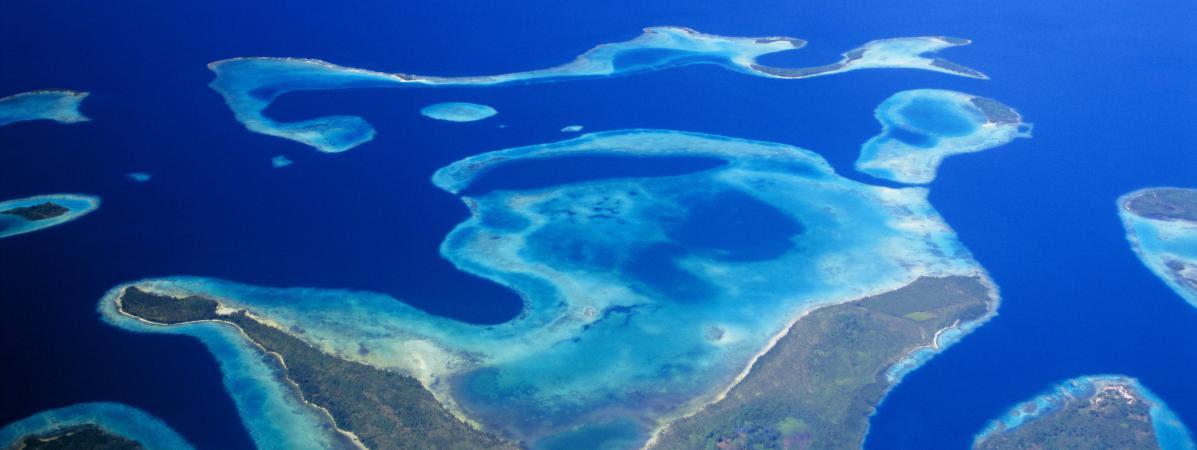 Les îles Salomon, dans le Pacific, le 28 septembre 2015.