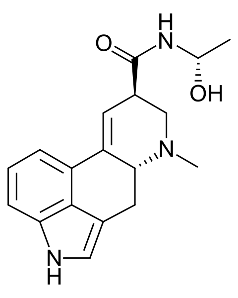 File:D-lysergic acid methyl carbinolamide.svg