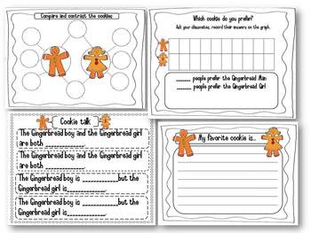 Responding to The Gingerbread Boy and The Gingerbread girl