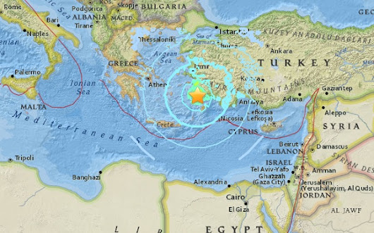 Turkey 6.7 Earthquake Rocks Kos Greece Cruise Ship Port - Cruise Bruise Blog