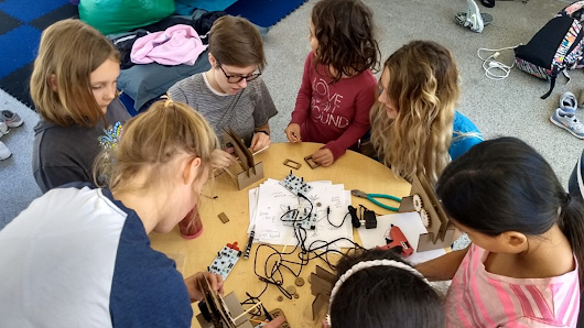 Paper Mechatronics workshops use technology and tinkering to learn machine design