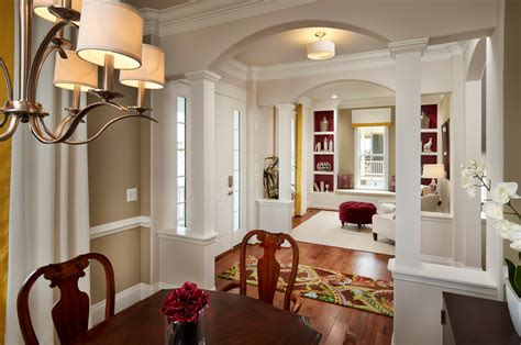 living room remodel ideas entry traditional  archway