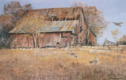 Old Barn | TQ-20 – Charles Beckendorf Gallery