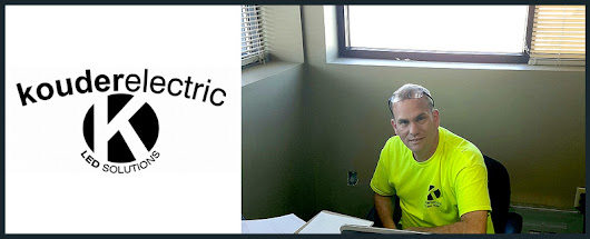 Kouder Electric & LED Services provides electrical services in Portage, IN