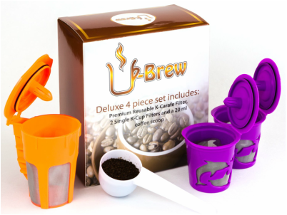 Enter the  U-Brew Gift Set Giveaway. Ends 2/10