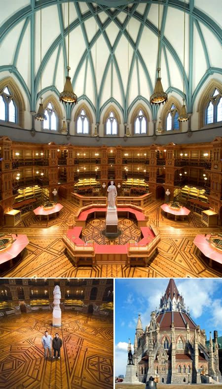 Library of Parliament, Ottawa, Canada