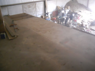More Barn Loft Plywood Flooring