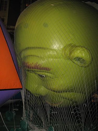 Shrek's head