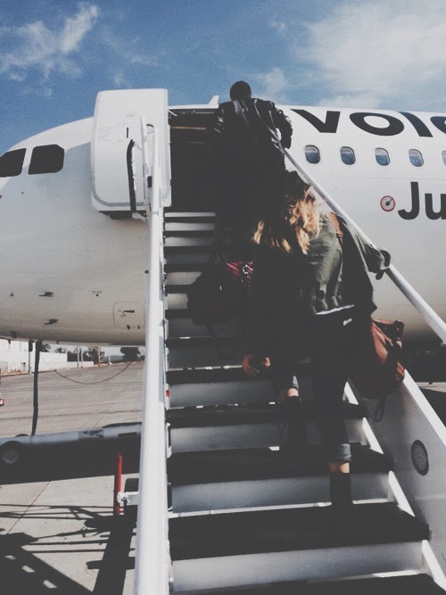 Traveling Alone On Airplane Eki Riandra