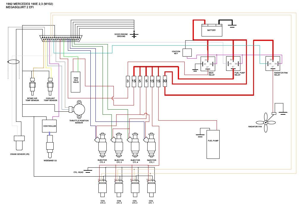 Megasquirt 2 Wiring Diagram - Wiring Diagram