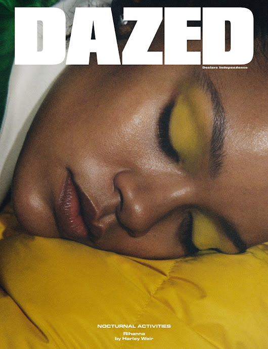 "#coverseason: ""Diamonds"" Rihanna covers four issues of Dazed Magazine and three issues of Vogue Paris"