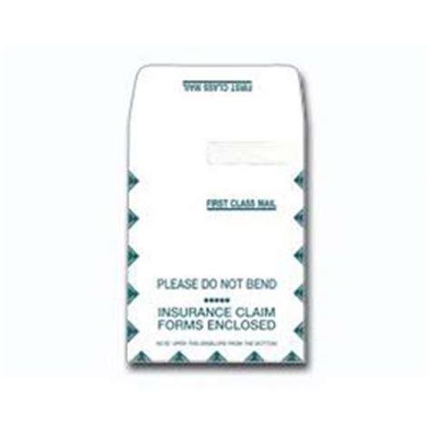 envelopes claim envelope cms large medical forms