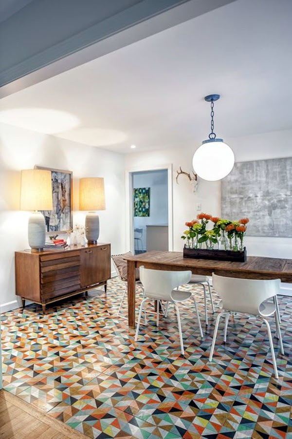 Creative Wood Floor Paint Decoration Art Works (8)