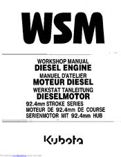 Kubota V2203-B Manuals