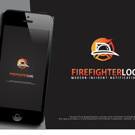 Designs | Firefighter App Logo featured by Google | Logo design contest