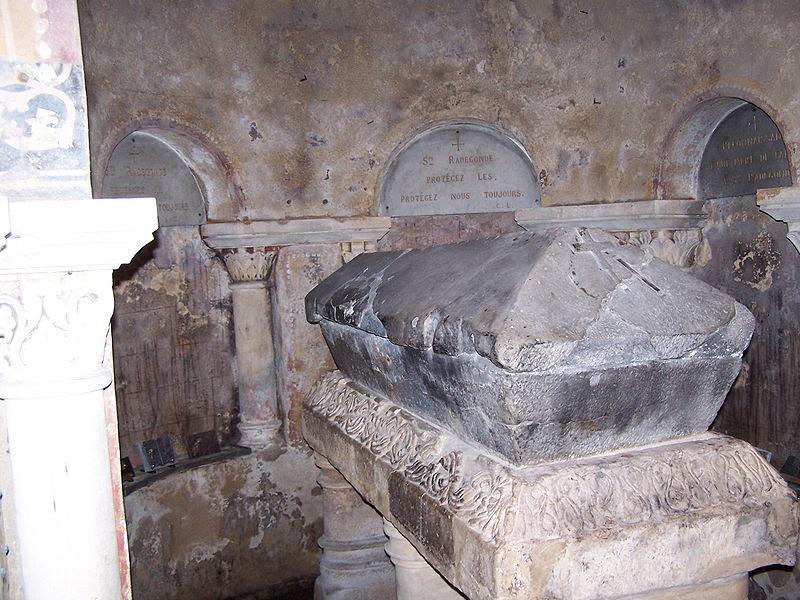 Sainte Radegonde de Poitiers († 587)