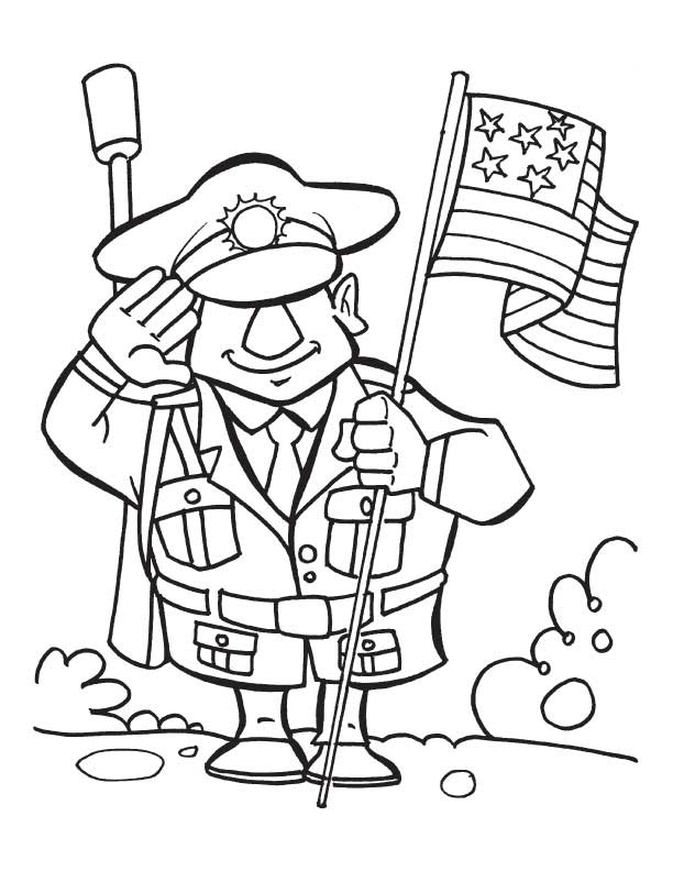 Veterans Day Printables For Kids - Coloring Home
