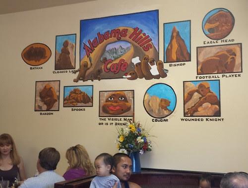 Alabama Hills Cafe Mural