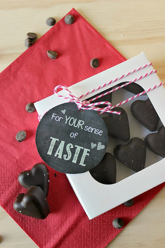 Valentine's Day Bacon Chocolate Hearts - Clean and Scentsible
