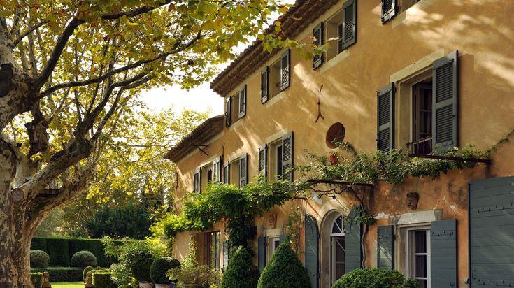 une maison en provence...