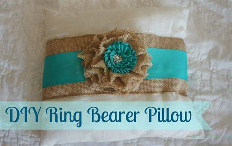 DIY Ring Bearer Pillow ~ Cheap & Easy   Rays of Bliss