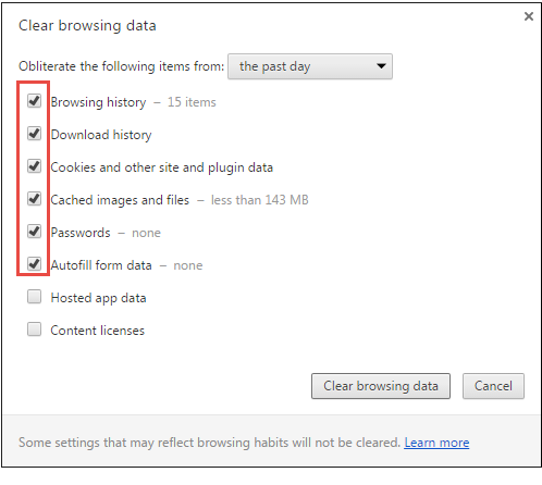 How to Clear Web Browser's Cache, History, and Cookie? - Turgs Blog